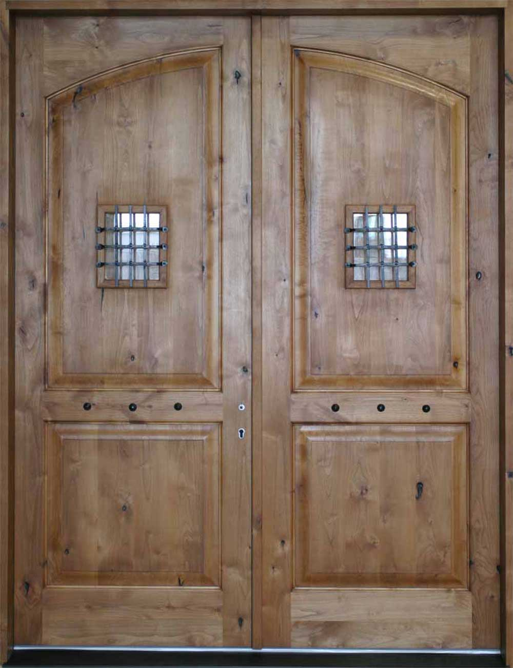 Crested Butte 2 panel interior doors wood style