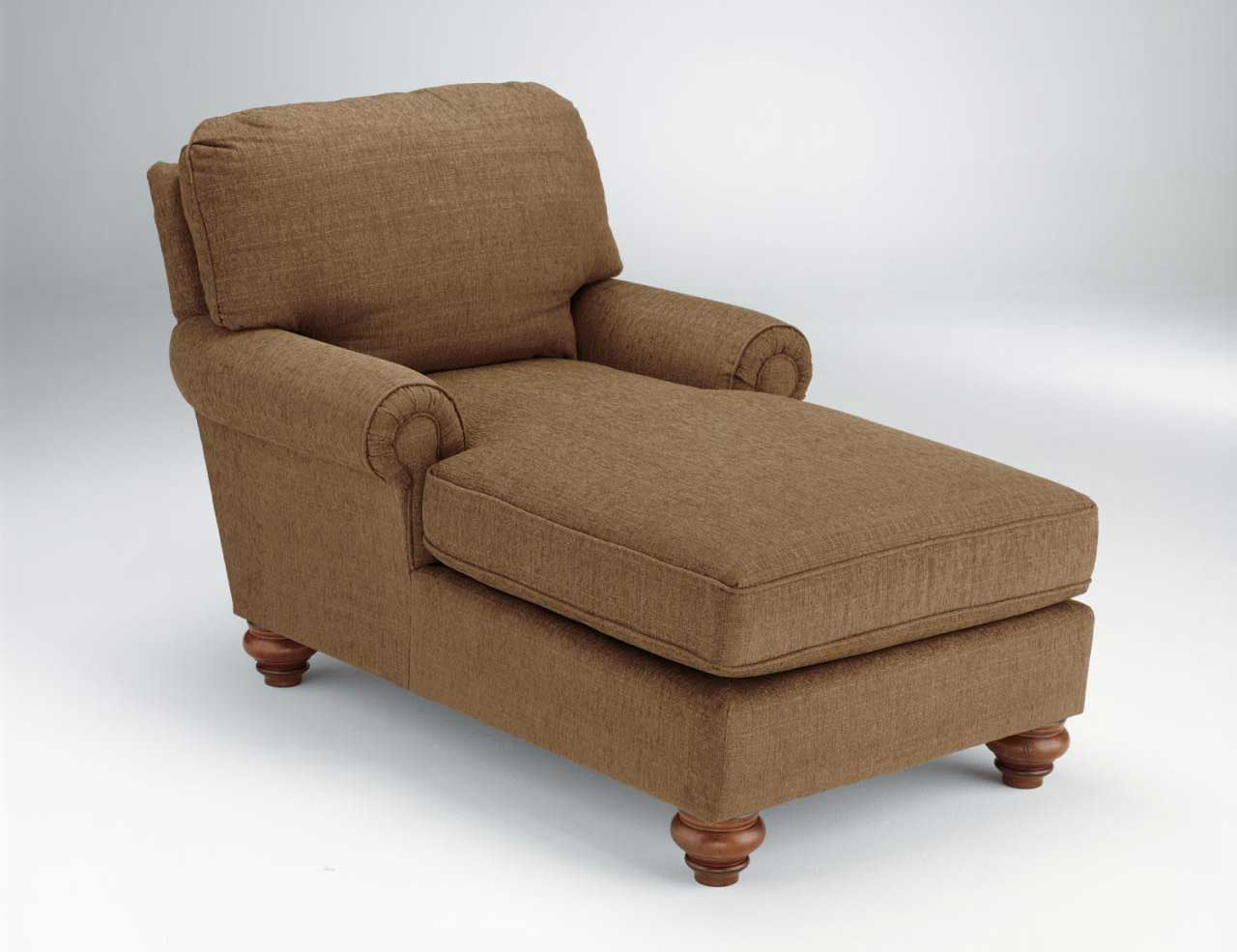Multifunctional Brown Bed and Accent Chair
