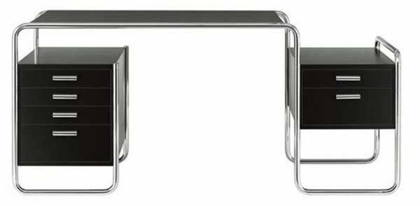 elegant stainless steel computer desks with storage