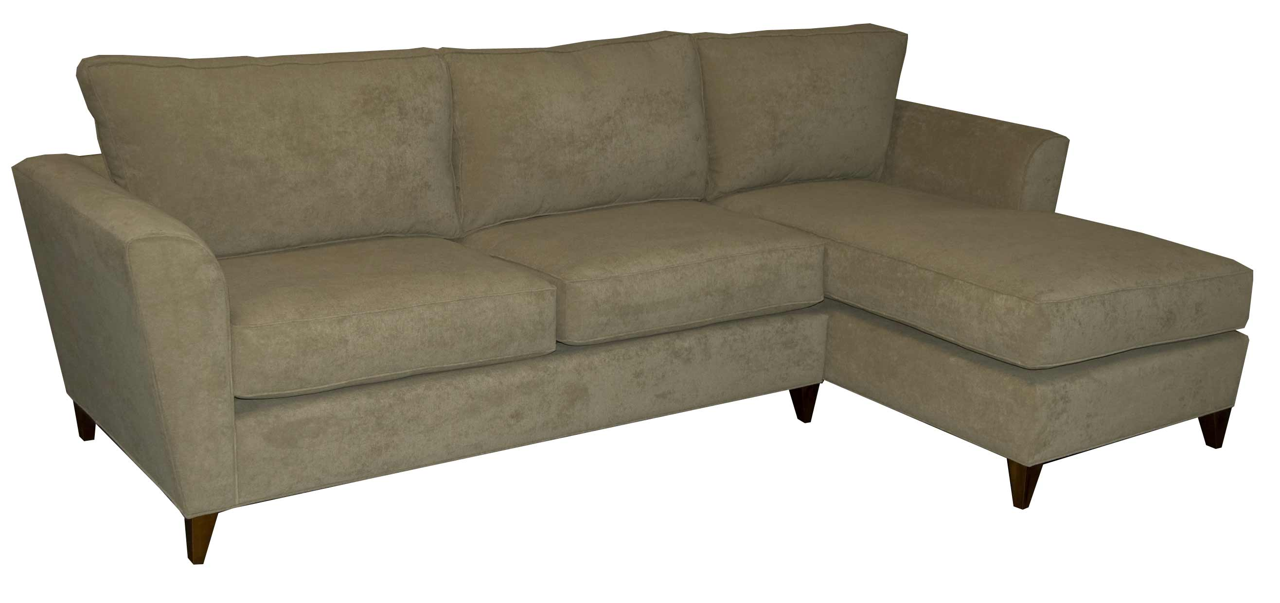 Affordable custom colby sectional couches in pale green