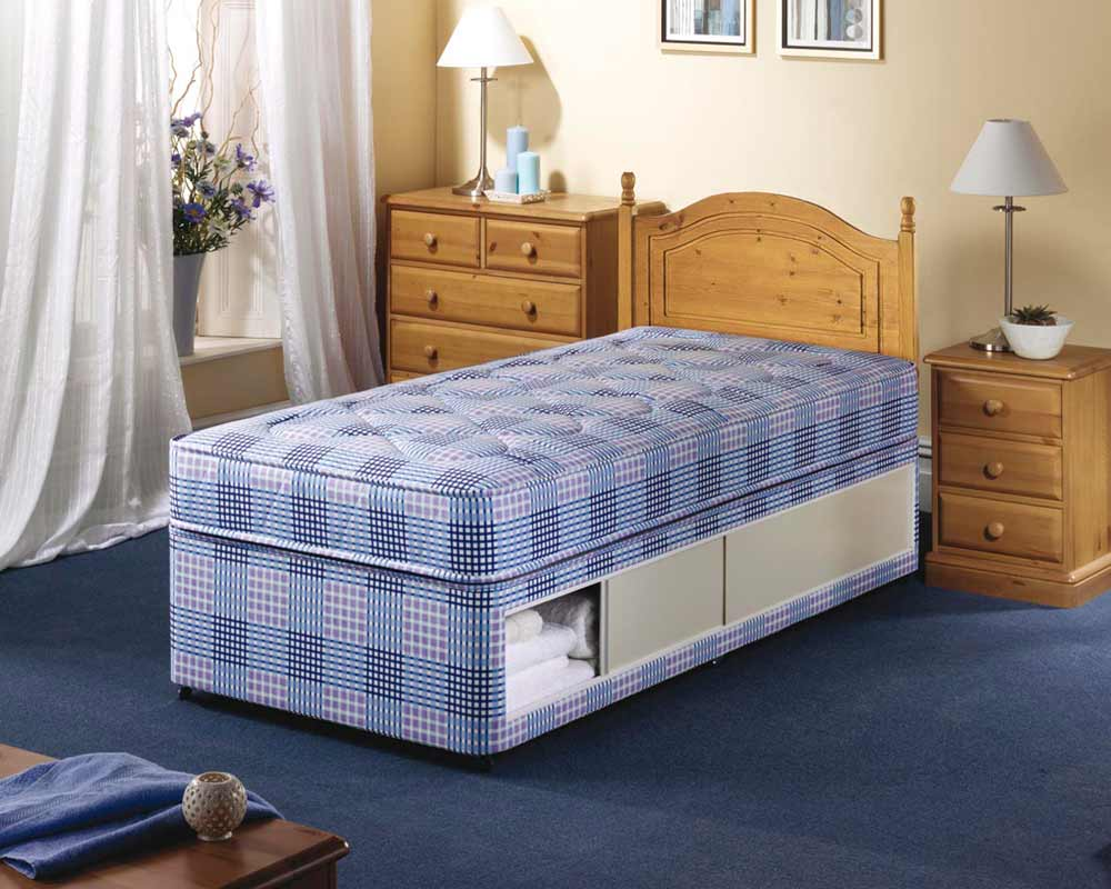 Airsprung Hudson single beds for small rooms