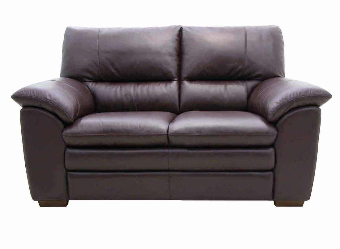 Cheap leather home sofas with pillows