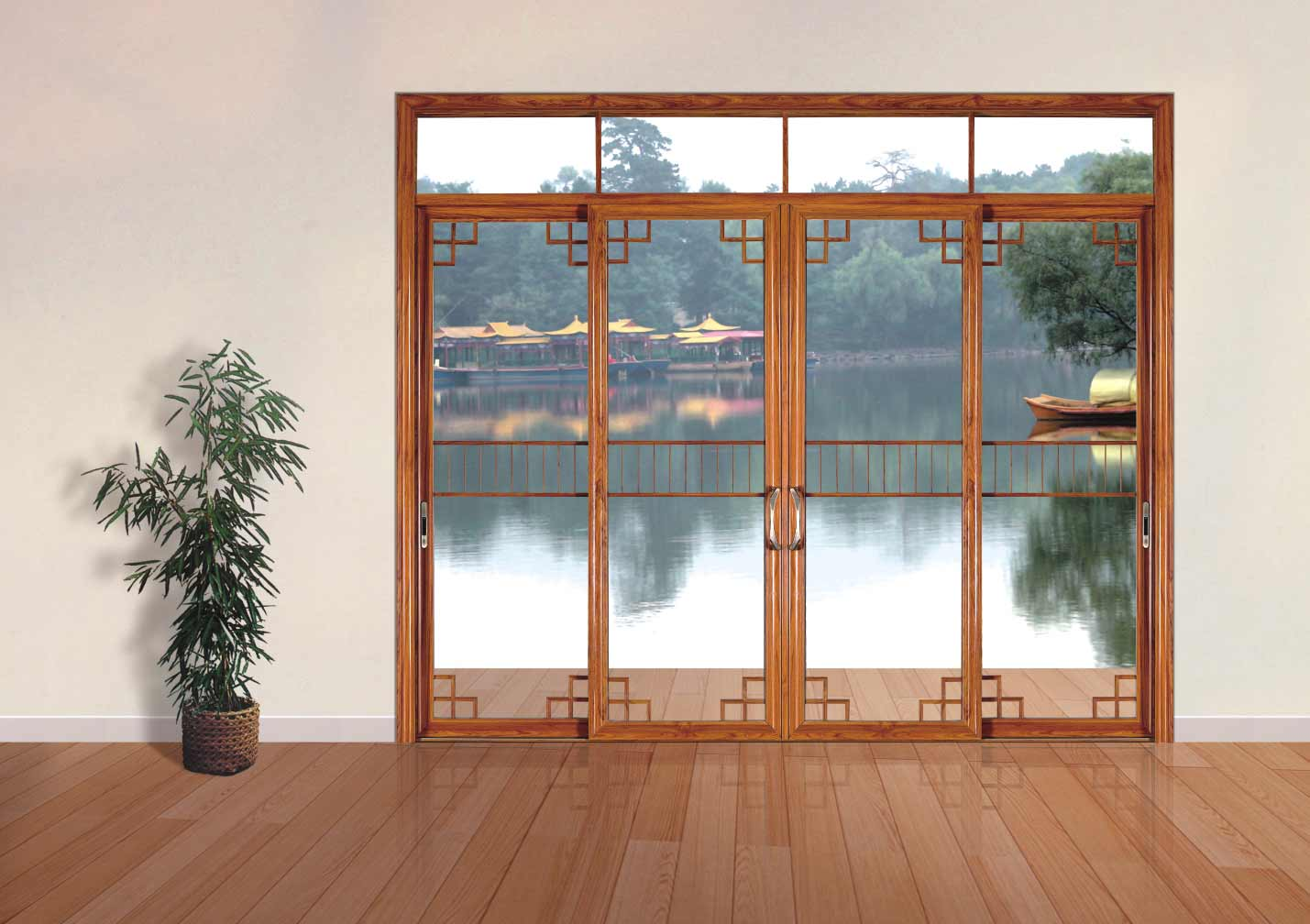 Wall sliding doors for all room type Sliding glass wall doors