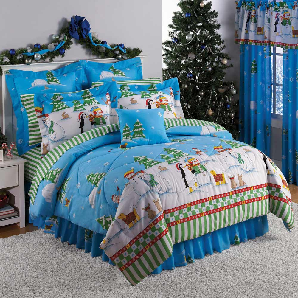 Christmas Teenager Home Bedding and Comforters