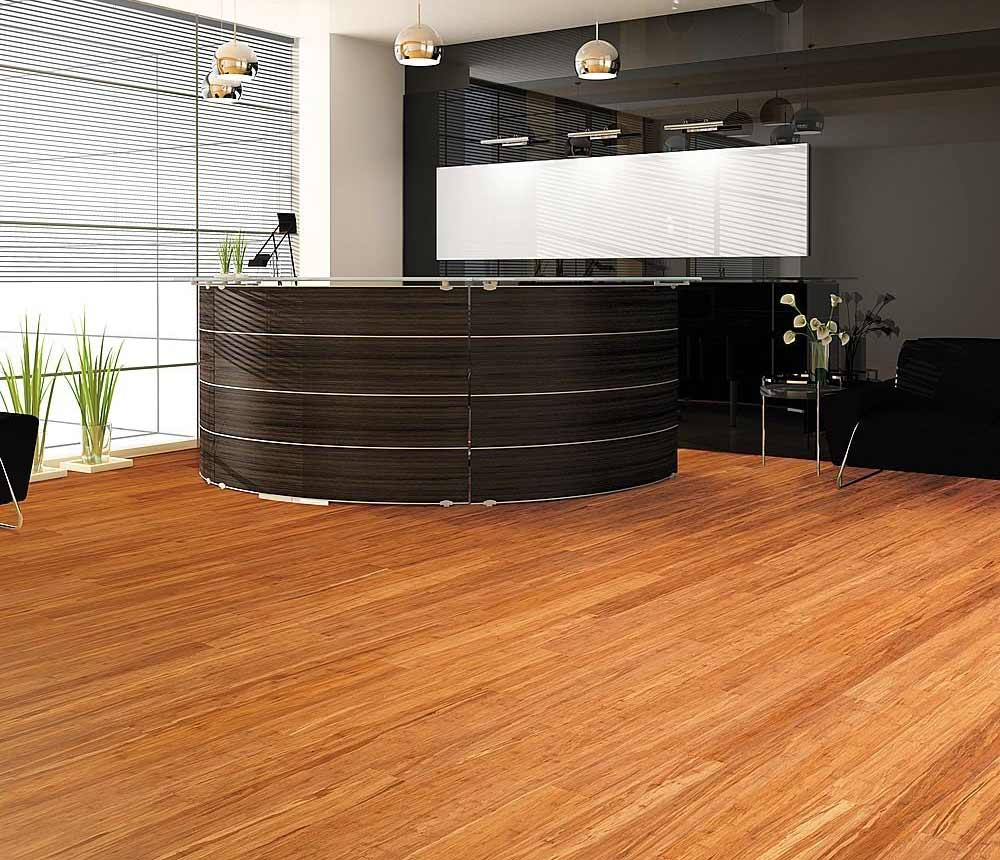 Floating engineered wood flooring feel the home for Flooring ideas for home office