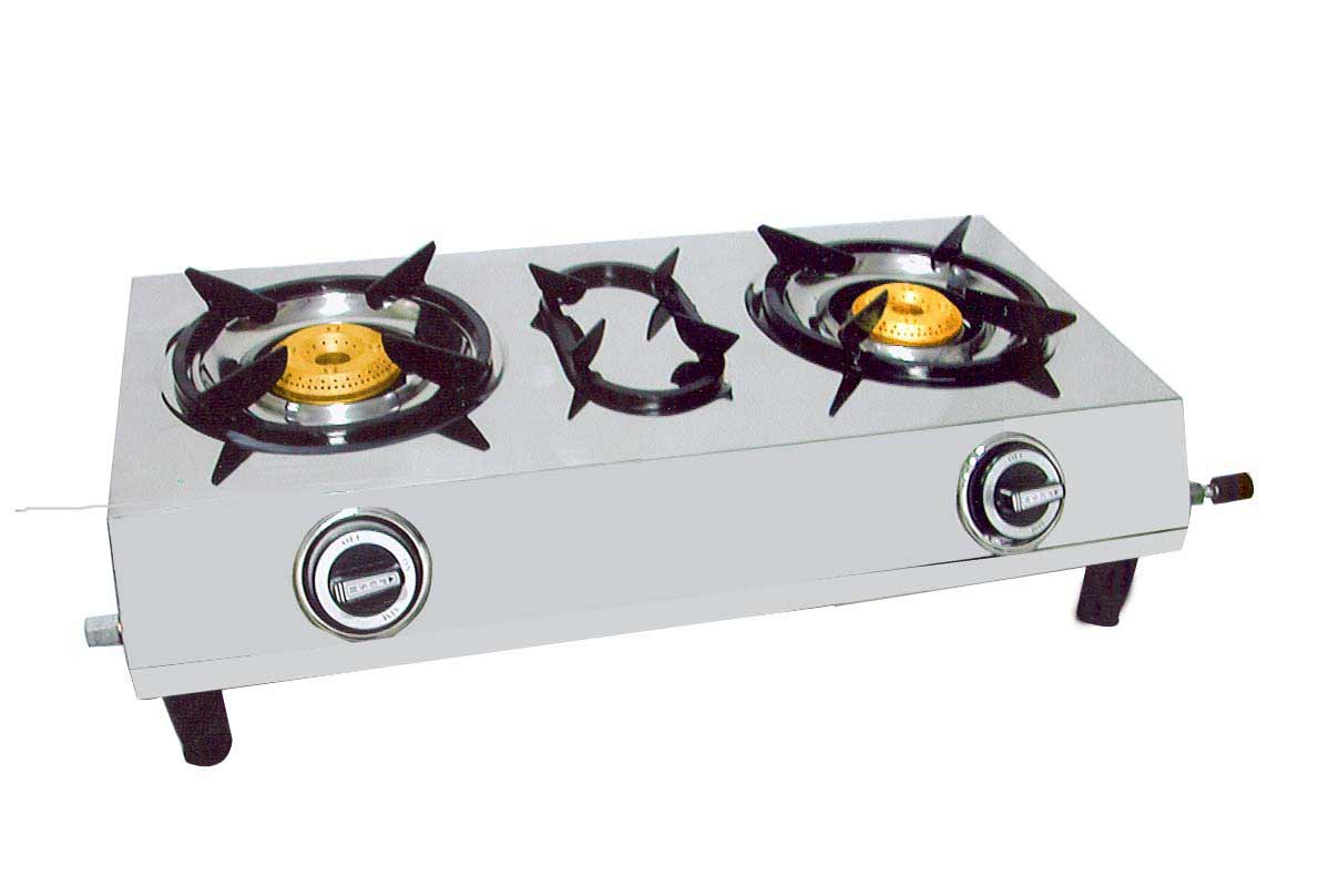 Home Supreme Gas Stove with Double Burners