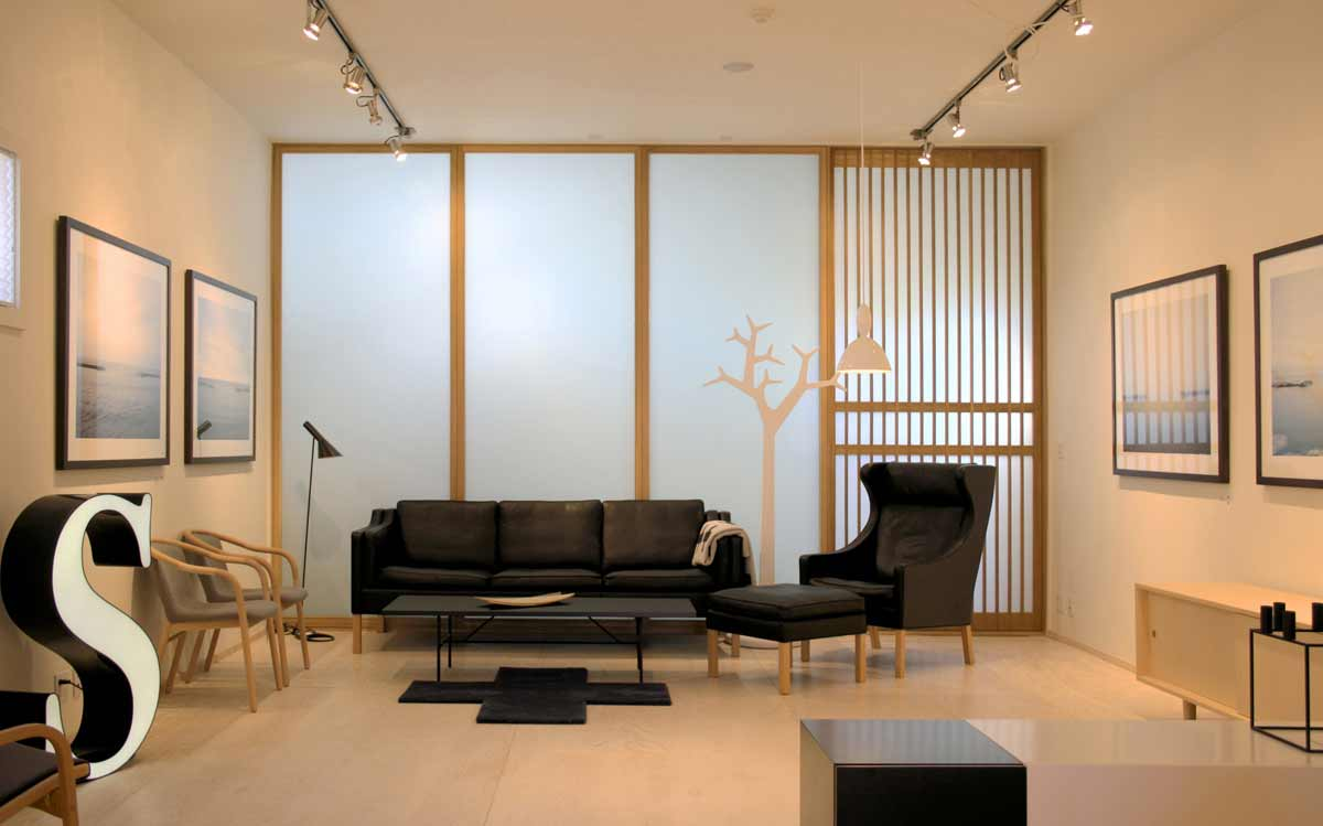 Extraordinary Wooden Partition Walls Living Room