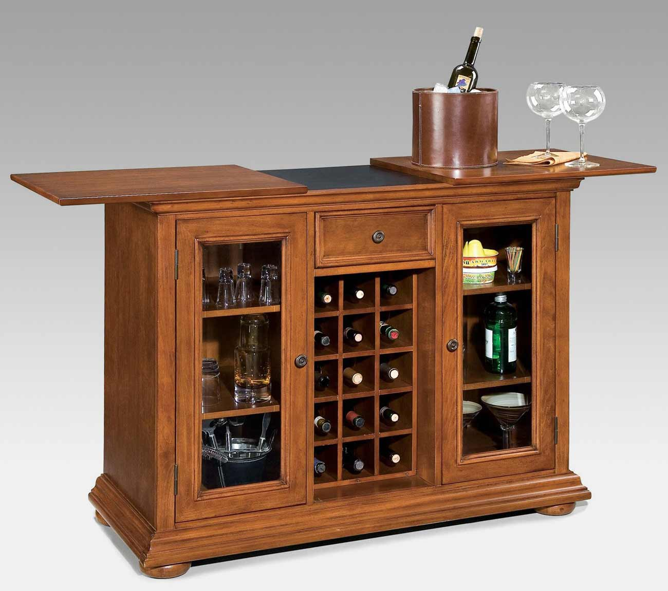 Wood Home Bar Furniture: Drinks Cabinets On Pinterest