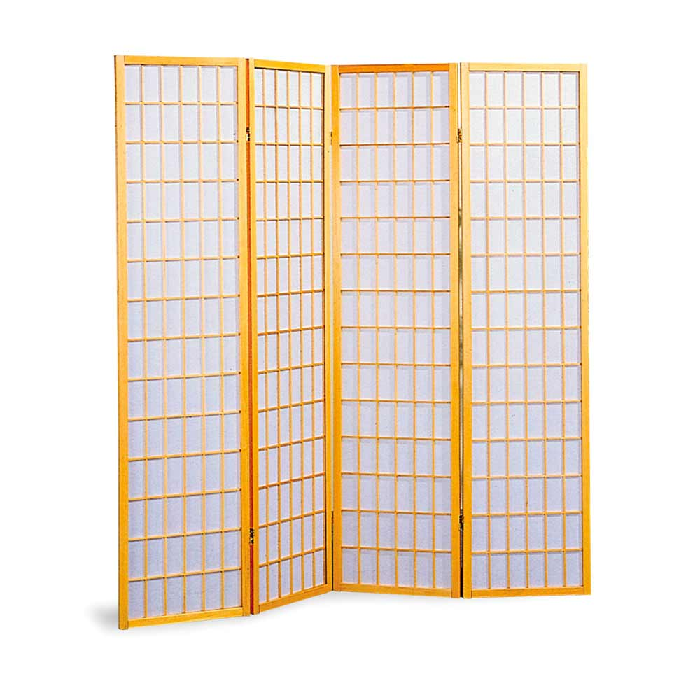 Japanese natural bamboo folding screens dividers