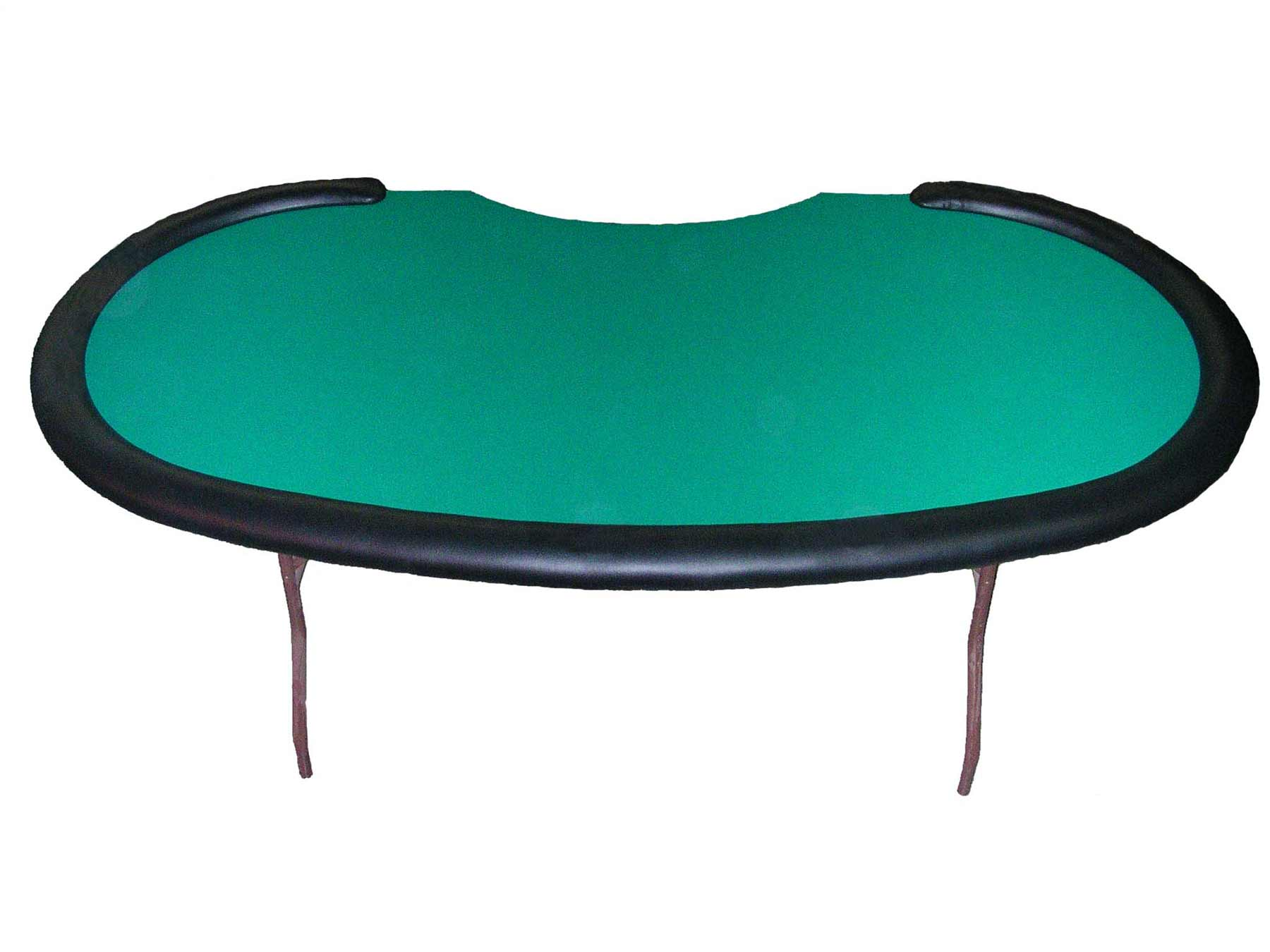 Kidney game folding table top