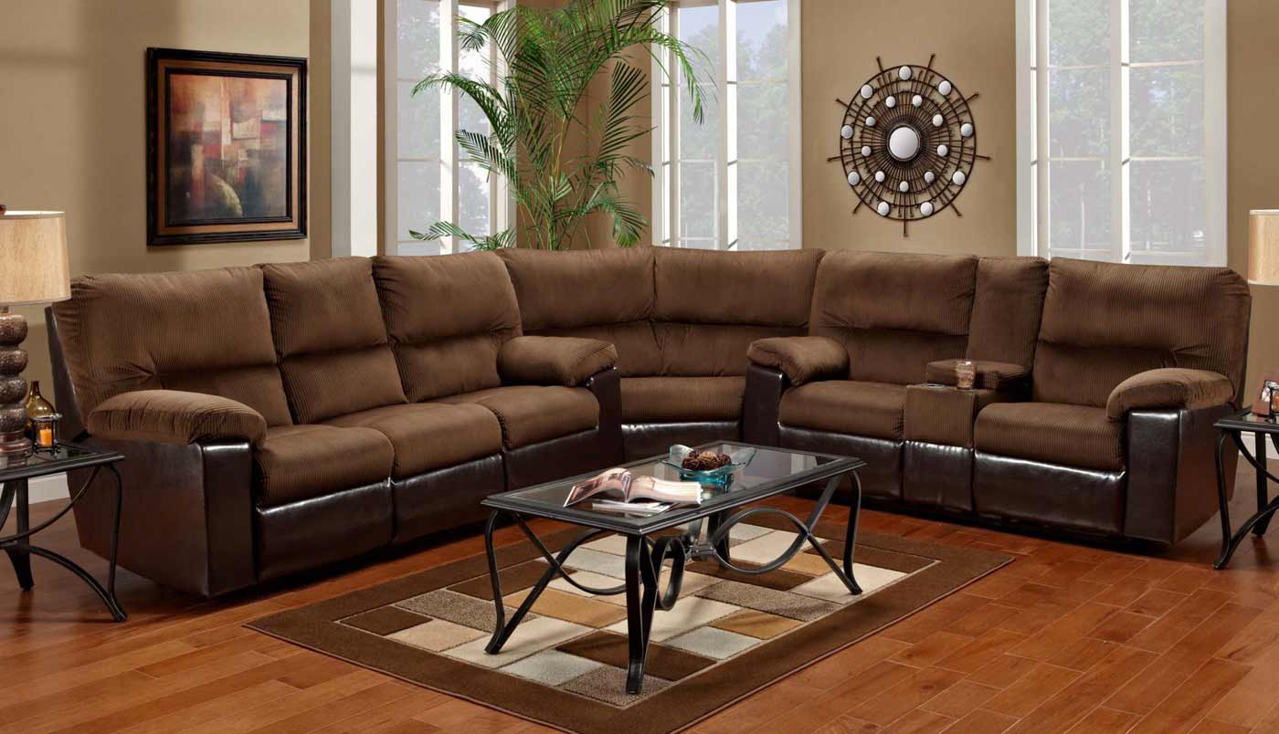 Marshall affordable sectionals cocoa series