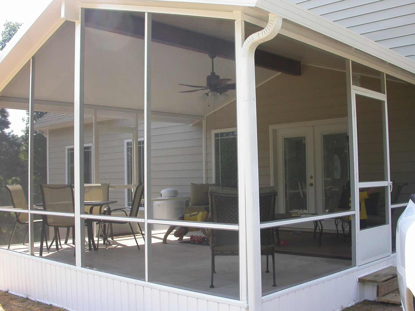 Metal frame awning windows for living room