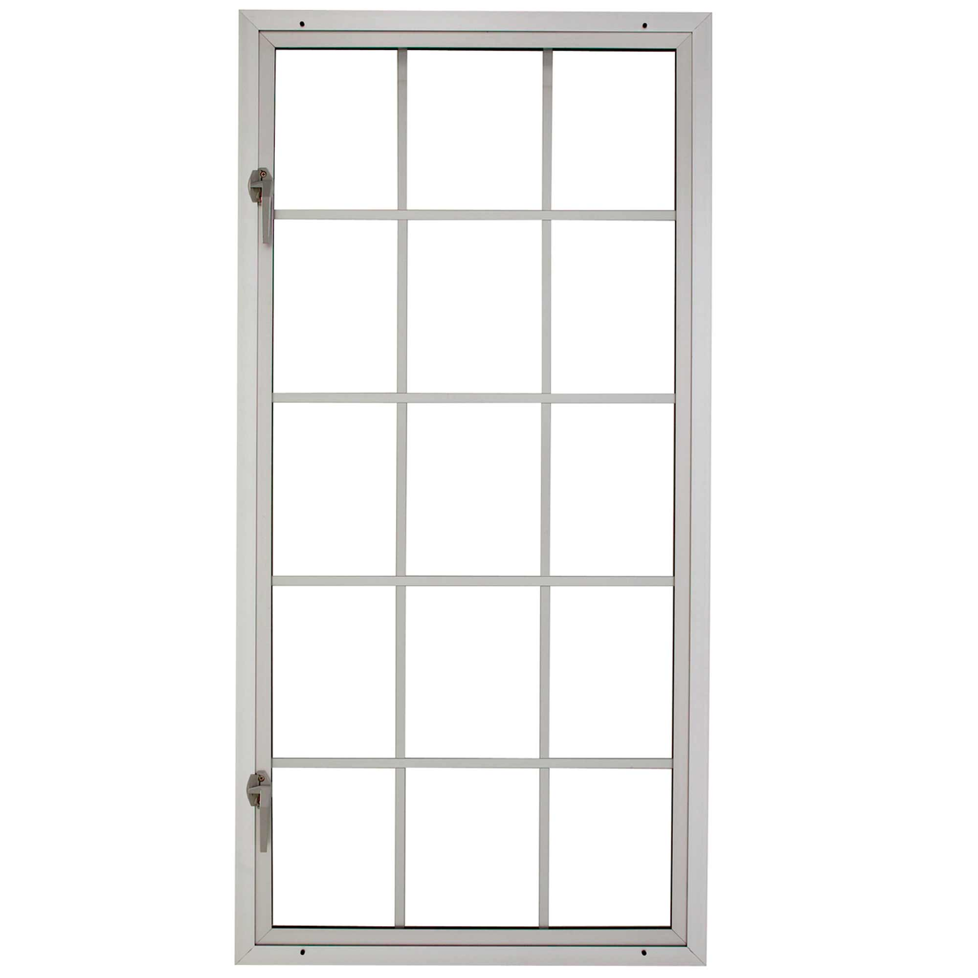 Milgard contemporary aluminum windows for open casement
