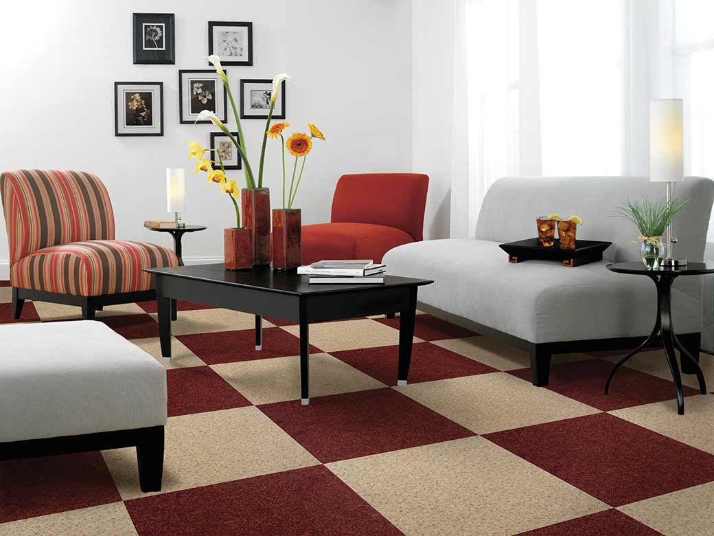 Modern Cubicle Home Carpet Rugs Design