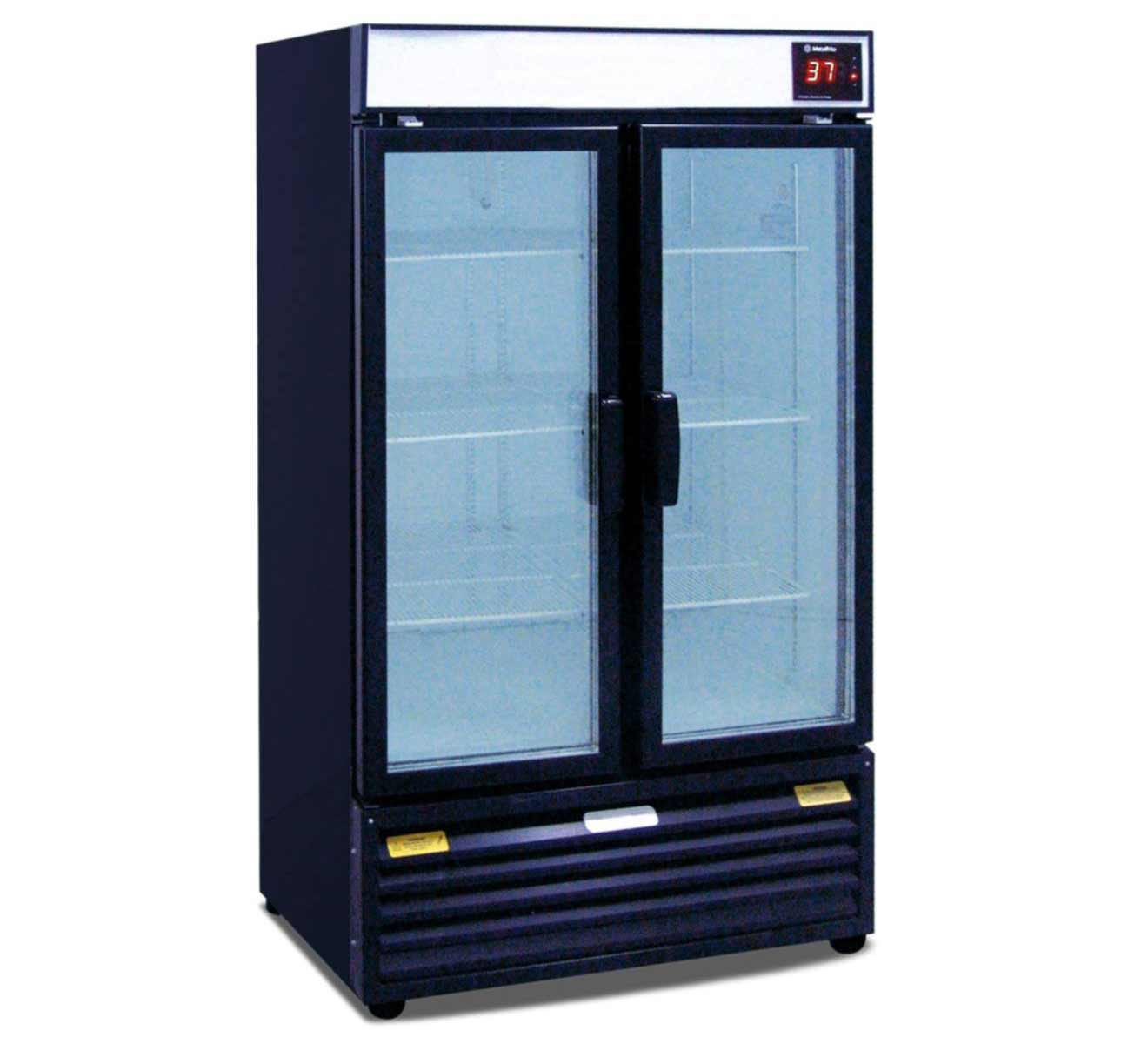 Prima beverage refrigerator glass door for home