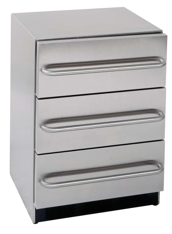 SUMMIT all refrigerator no freezer with 3 drawers
