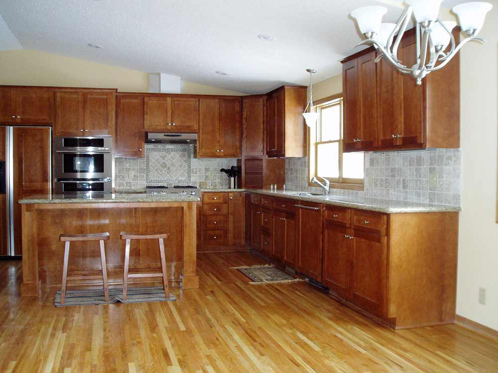 Solid Oak Kitchen Flooring Ideas