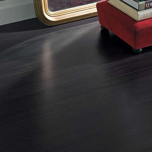 Strand Woven Midnight Black Bamboo Flooring
