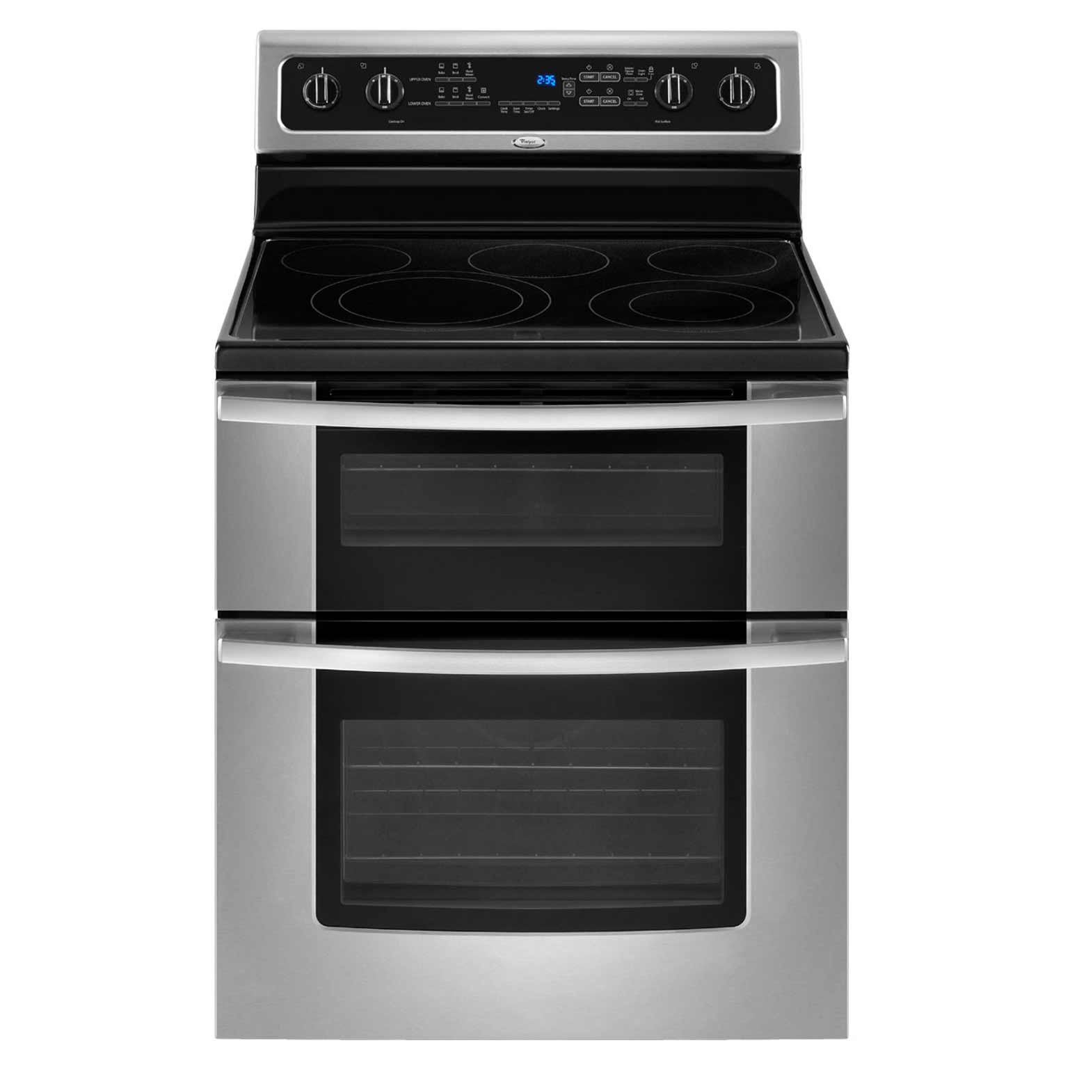 Whirlpool Freestanding Electric Range with Double Oven