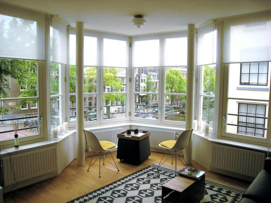 Wide view Urban Bay Window for Home