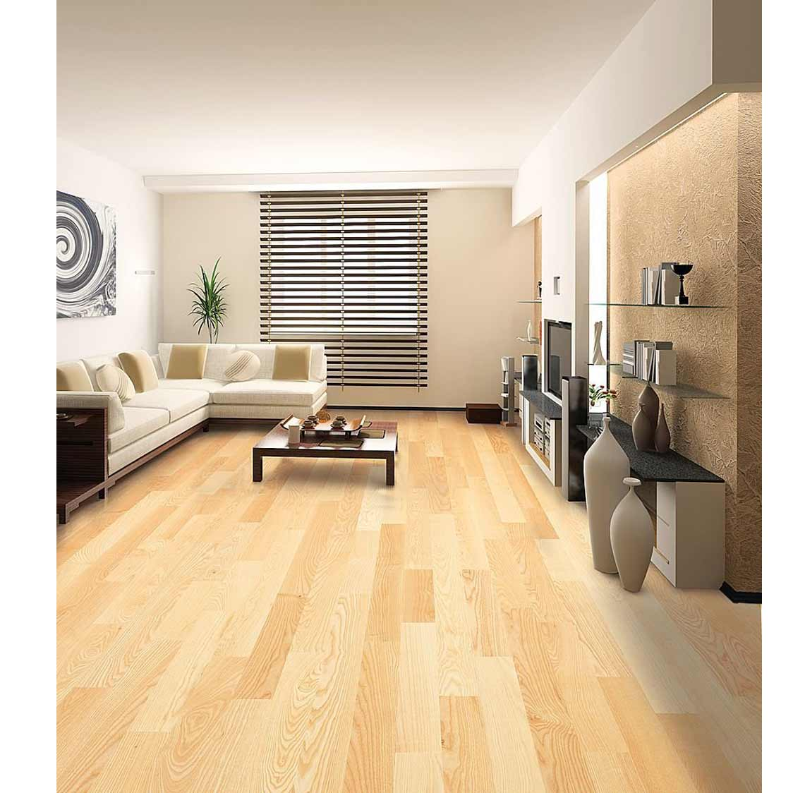 Yazco modern natural hardwood carpet design