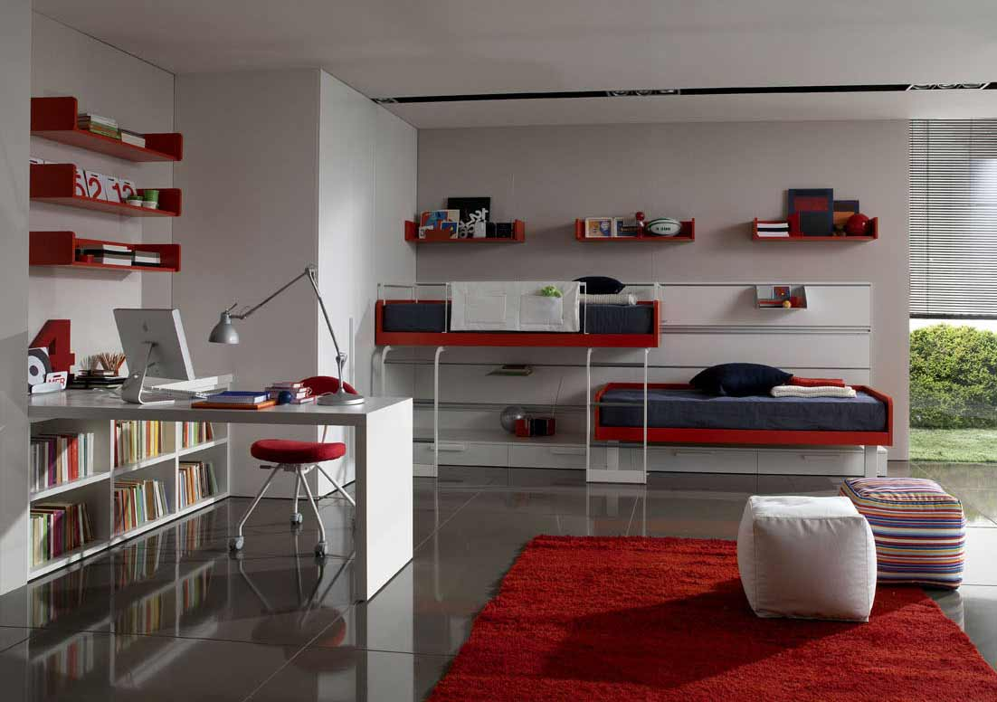 Zalf beds for teenagers bedroom design
