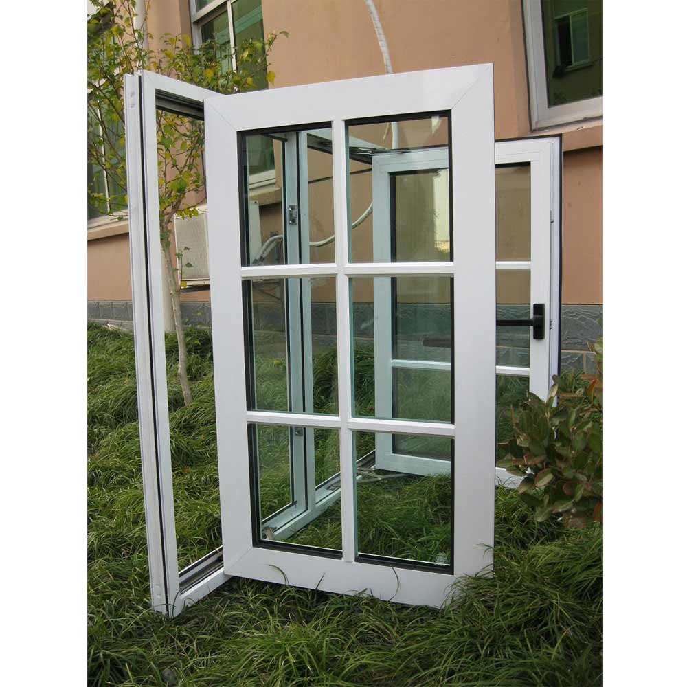 aluminum casement clear glass windows for home