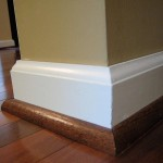 baseboard molding styles in timber floors