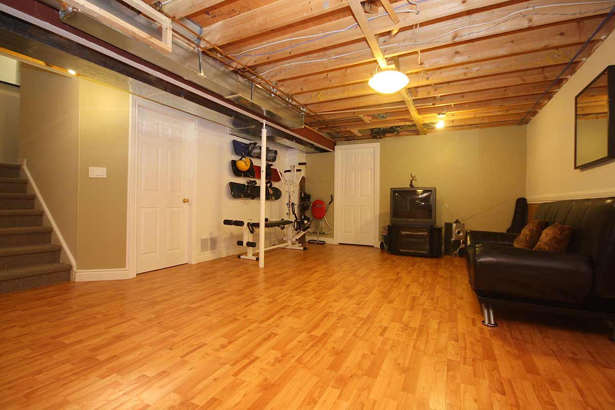 best basement flooring finish