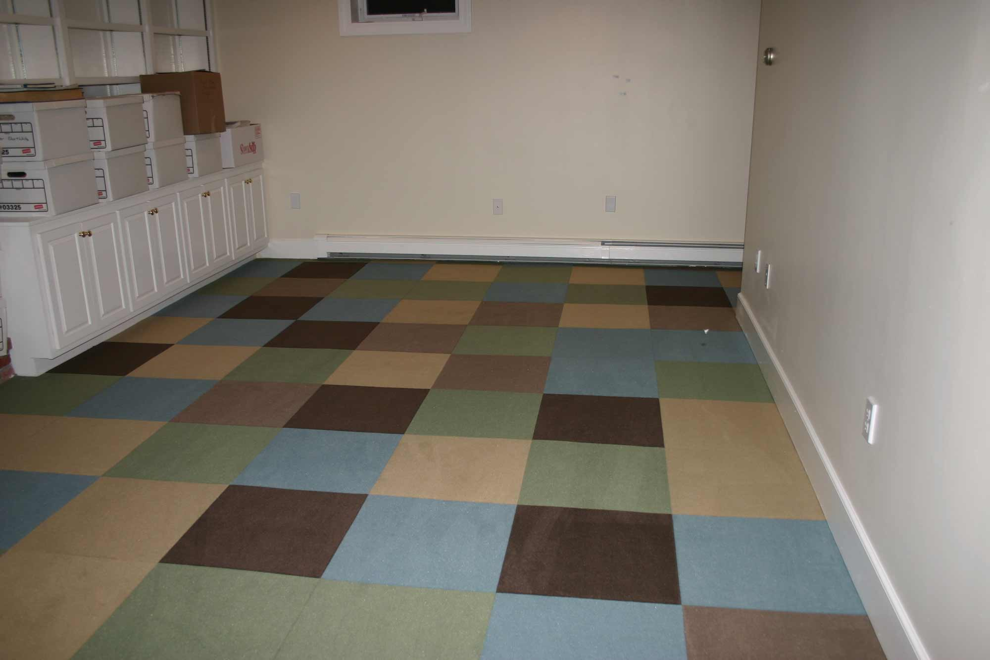 rubber floor tiles home basement flooring