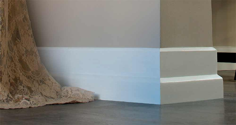 decorative baseboard styles in new york