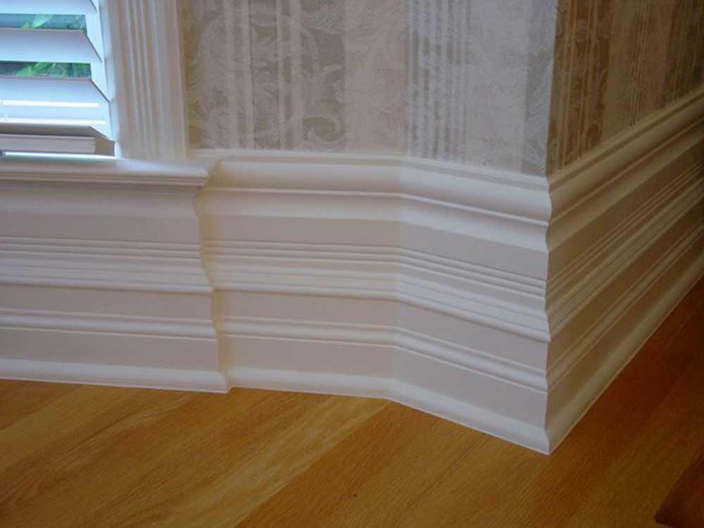 high skirting baseboard styles