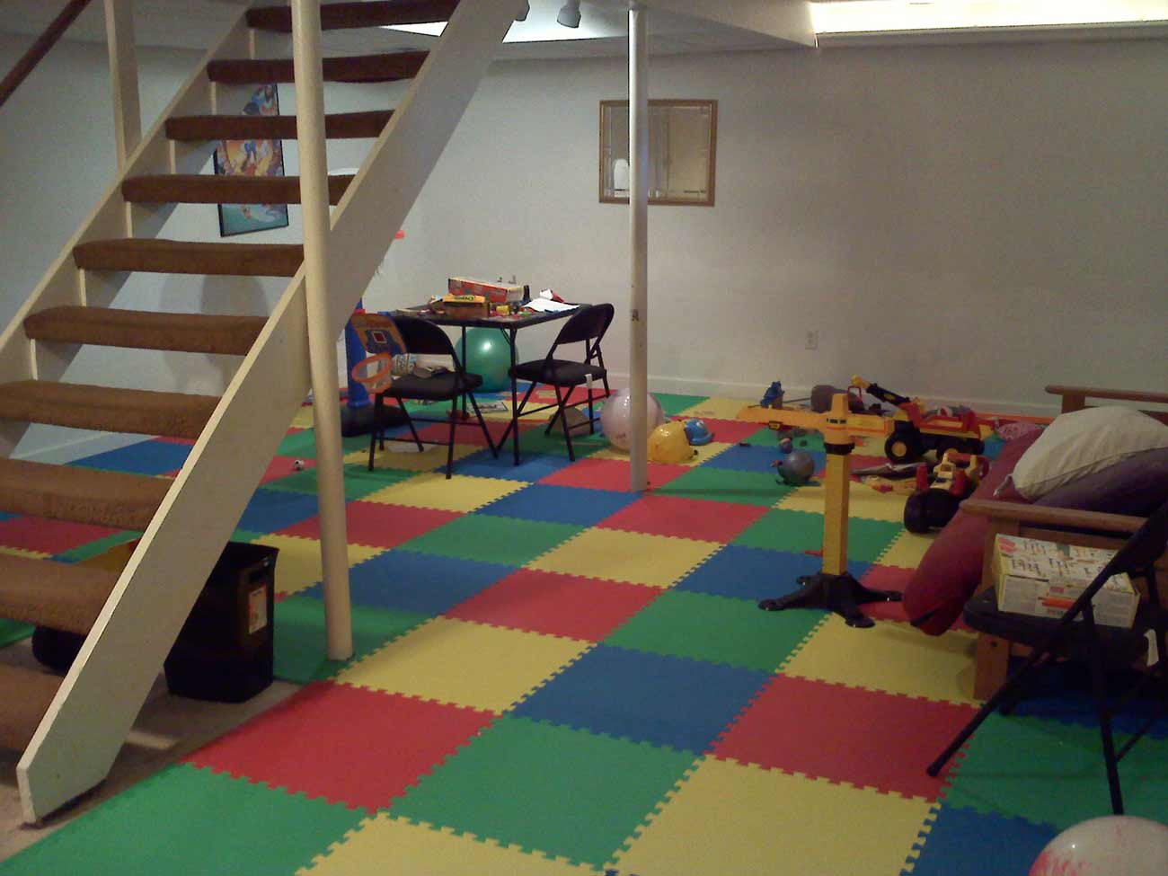 kids best carpet for basement in rubber