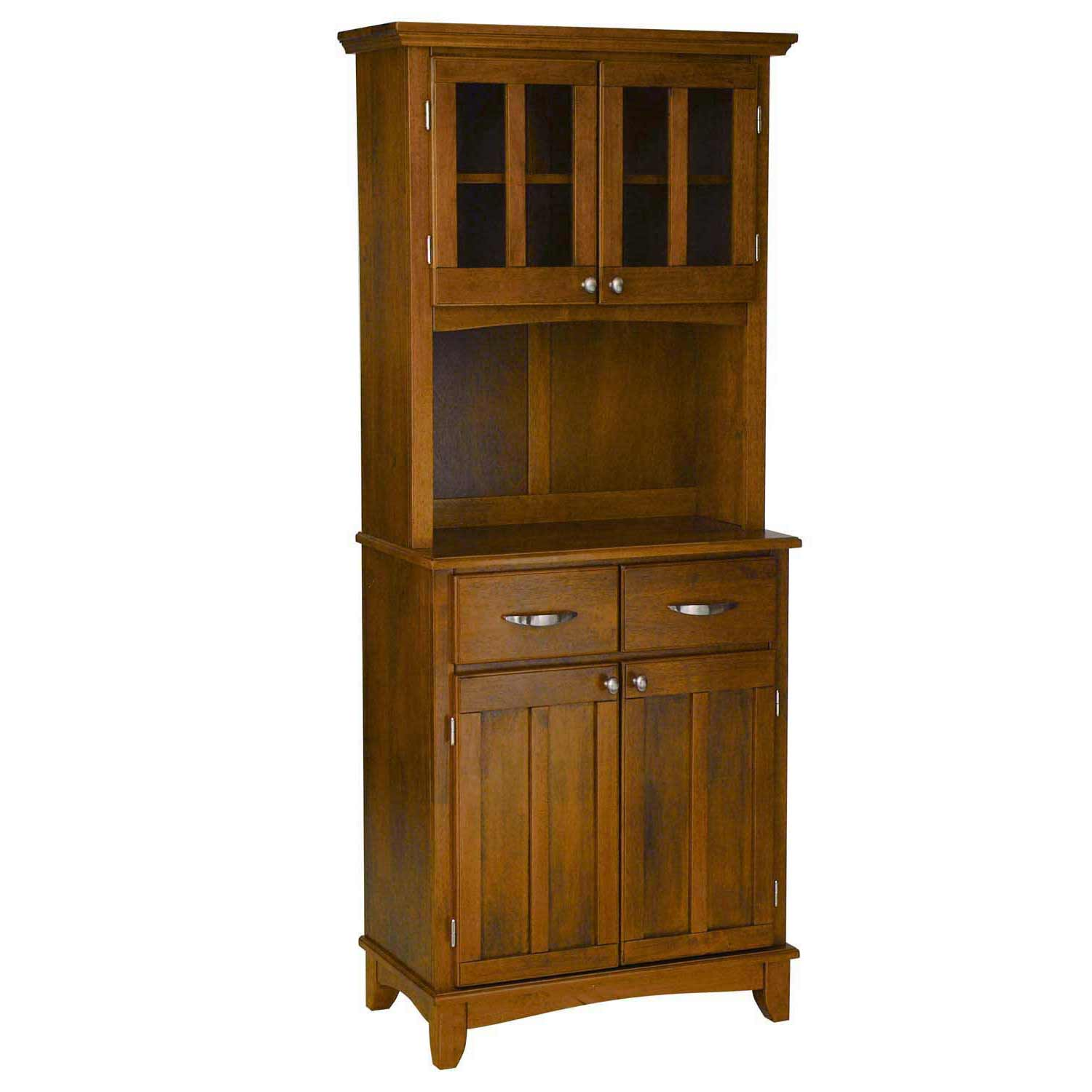 mahogany home buffet with hutch