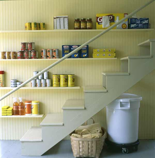 narrow shelving basement storage cabinets style