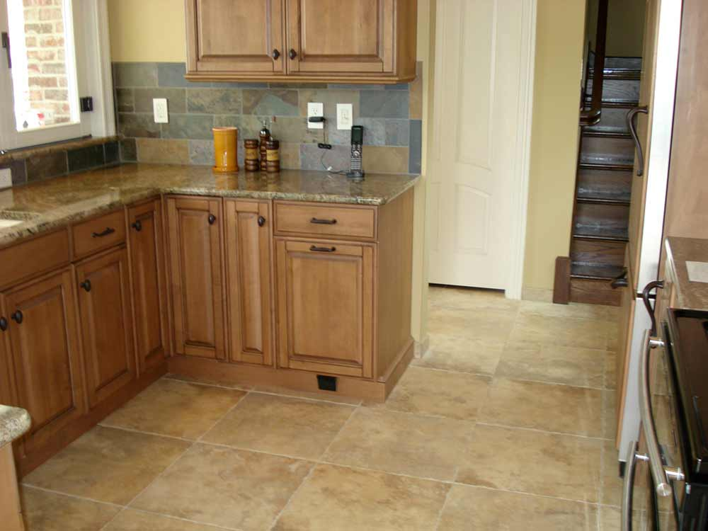 Linoleum flooring kitchen feel the home for Tiling kitchen floor