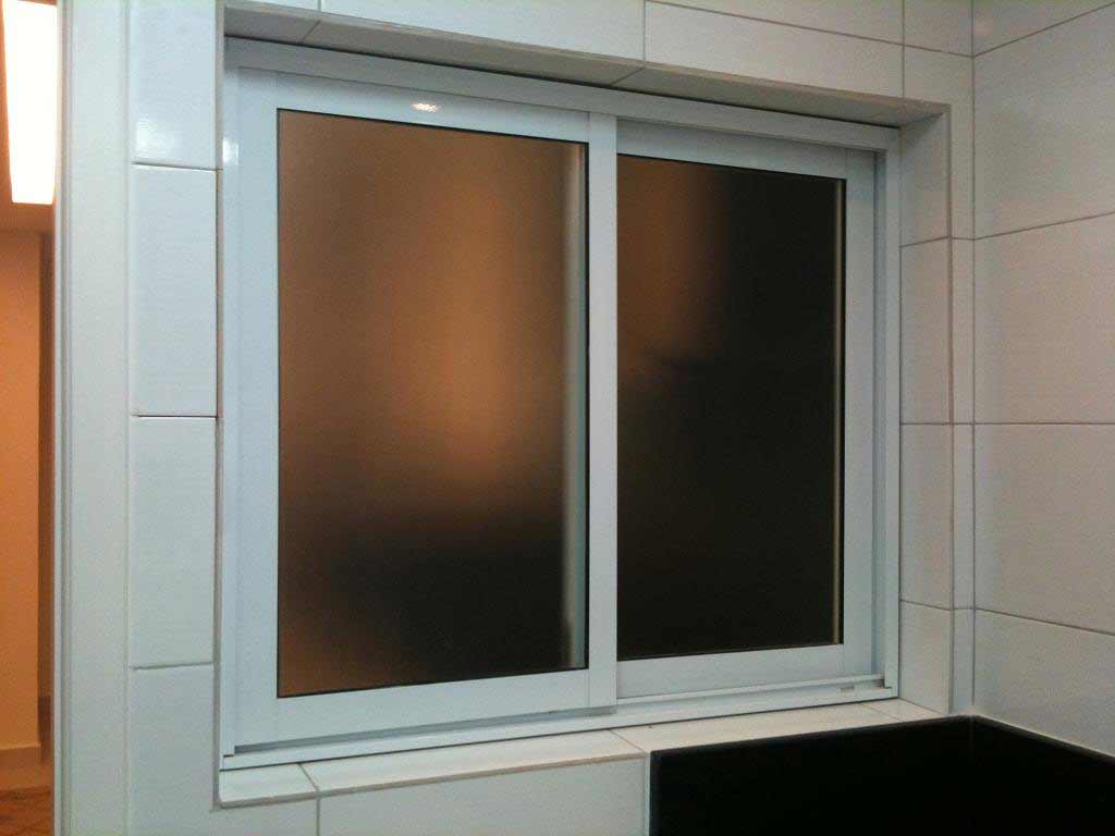 sliding awning windows in aluminum frame