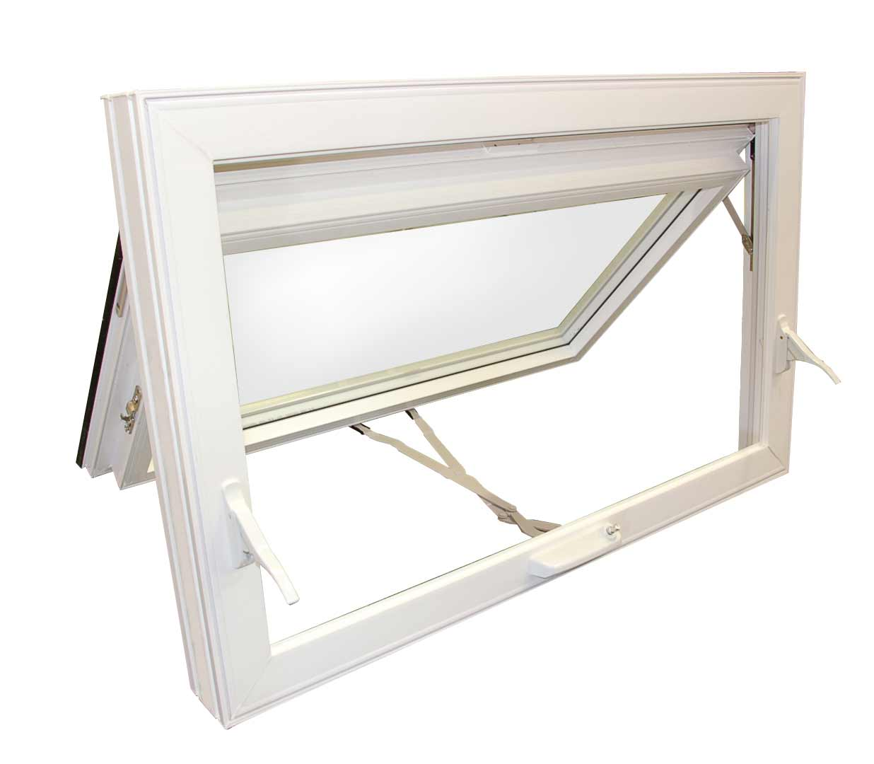 Aluminum hopper windows feel the home for Awning replacement windows
