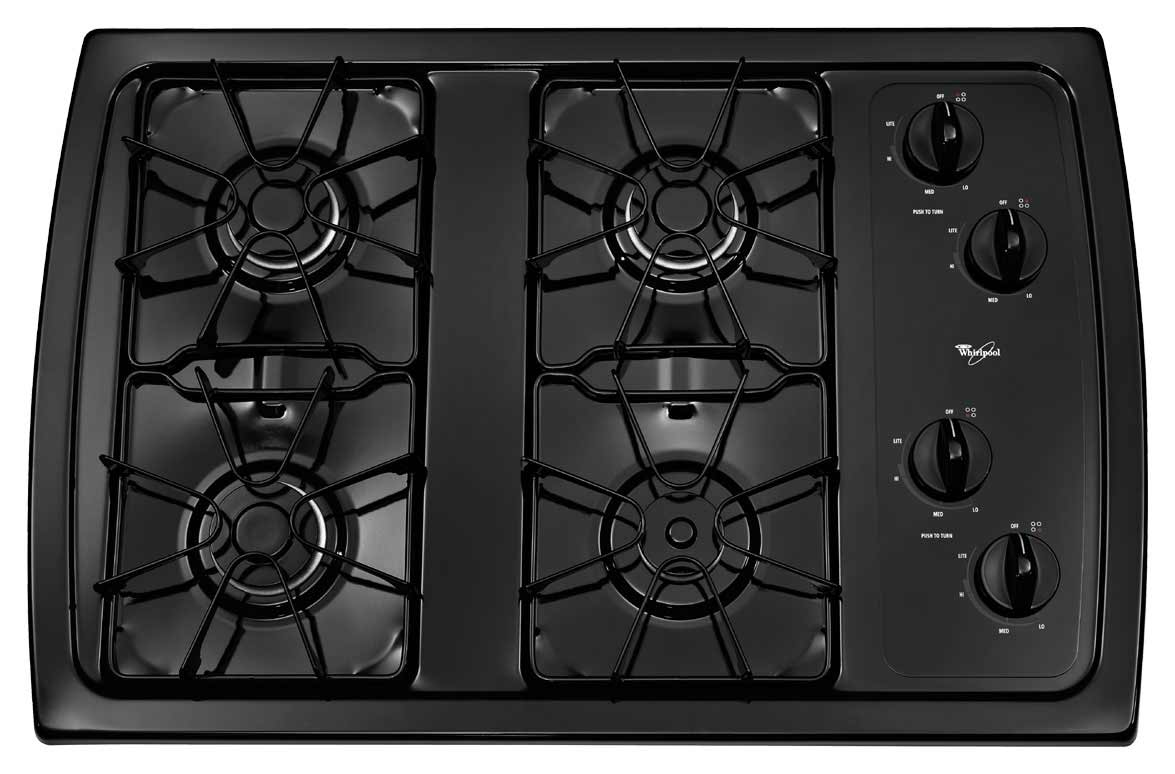 whirlpool AccuSimmer gas cooktop burner for home