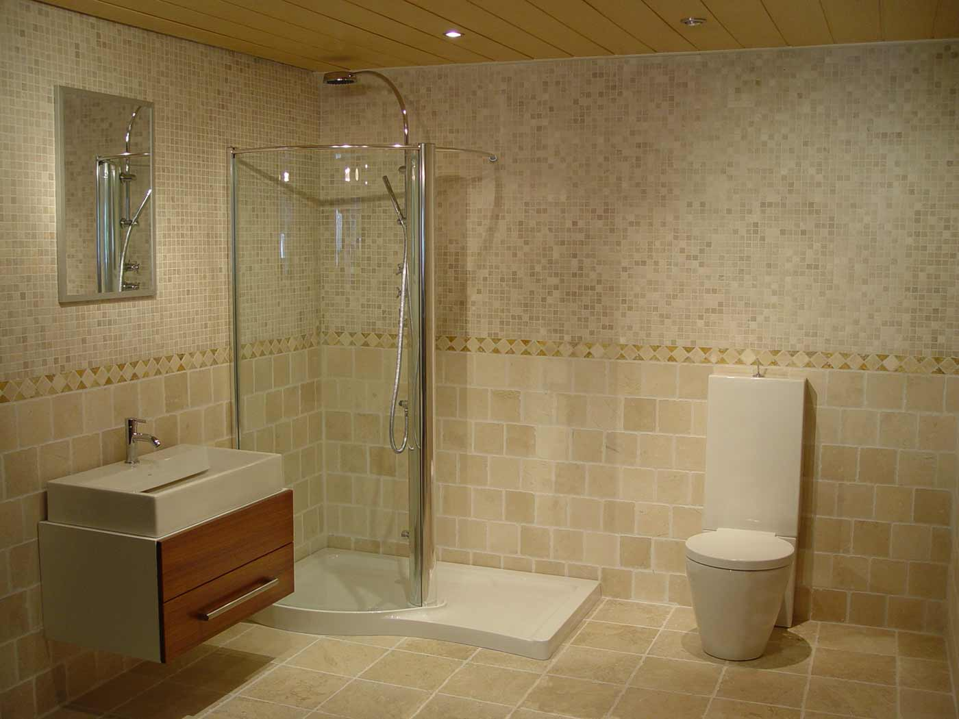 Best Tile for Bathroom Ideas1 Bathroom Ideas Glass Tile