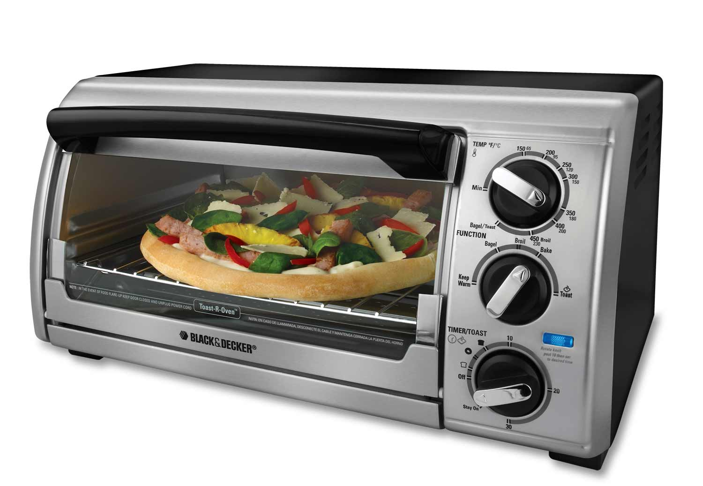 Black & Decker TRO480BS Countertop Oven with 4 Slice Toaster