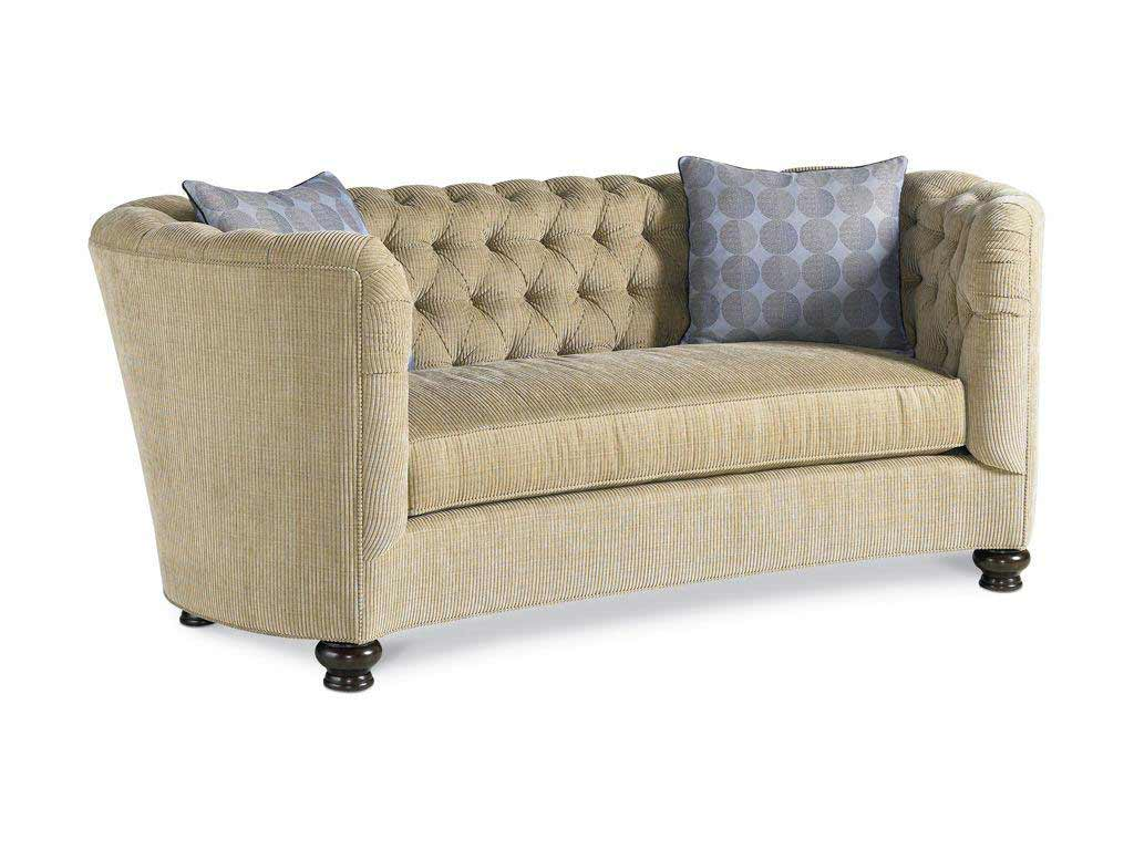 Drexel Heritage Carma Living Room Sofa with One Cushion