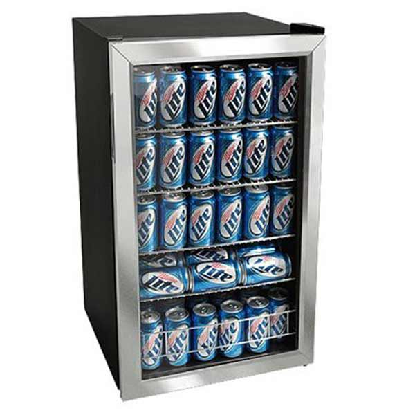 EdgeStar Glass Door Can Beverage Cooler