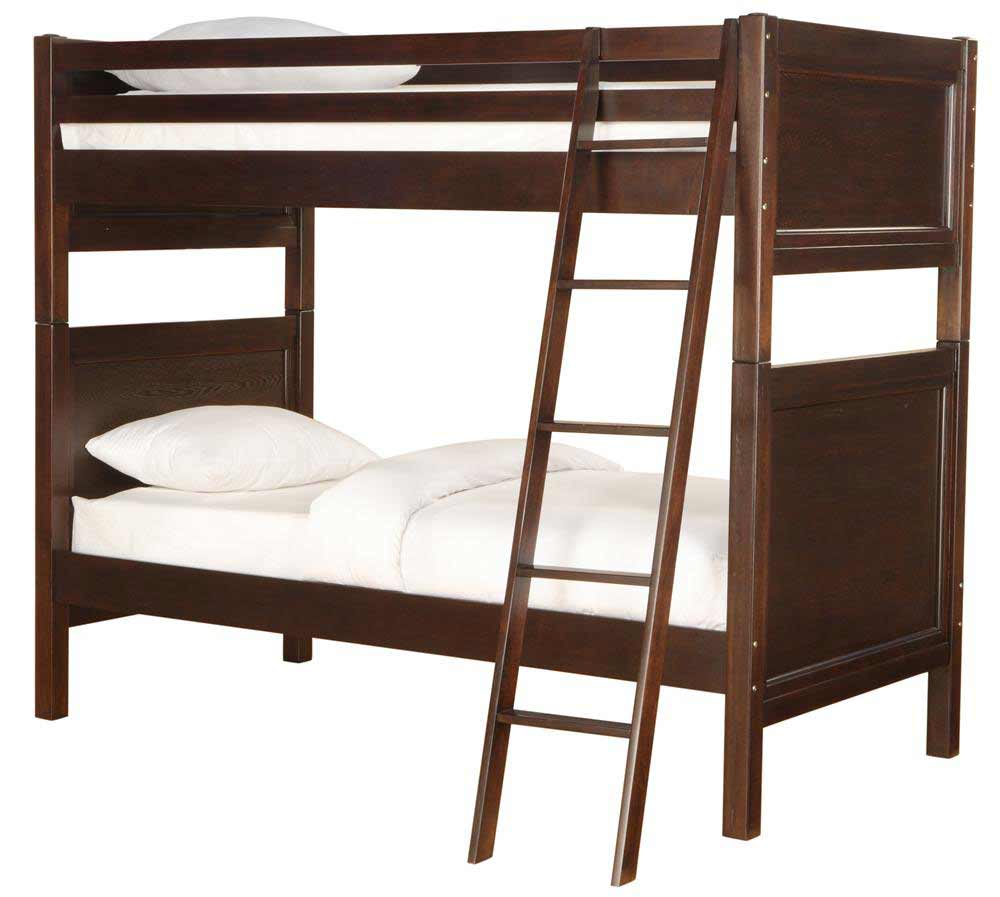 Hayden Twin Size Discount Bunk Beds with Headboards