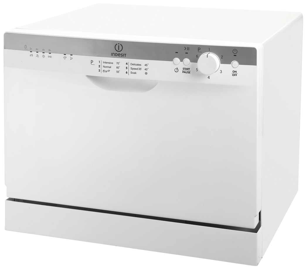 Indesit White Home Dishwasher with Table Top