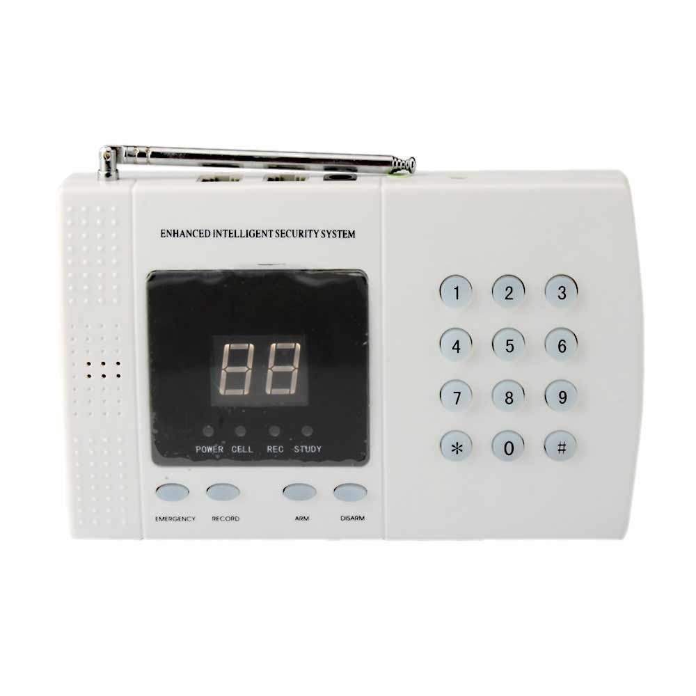 Intelligent Burglar Home Wireless Alarm with Dial Pad