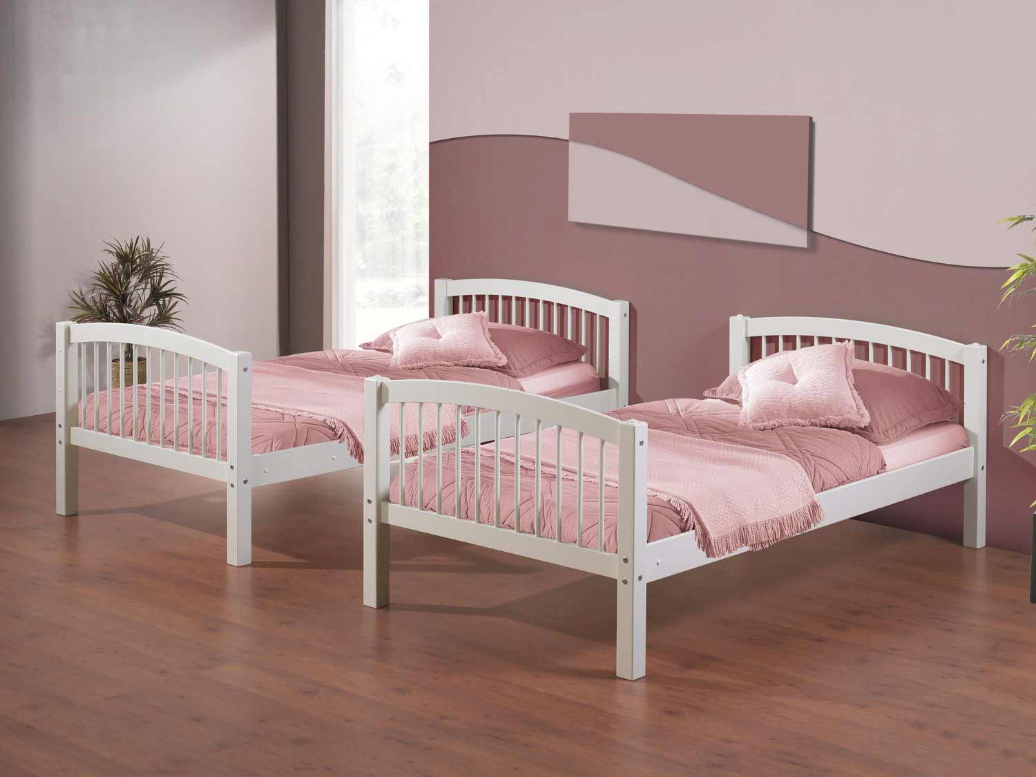 Linon Twin Bunk Bed Collection