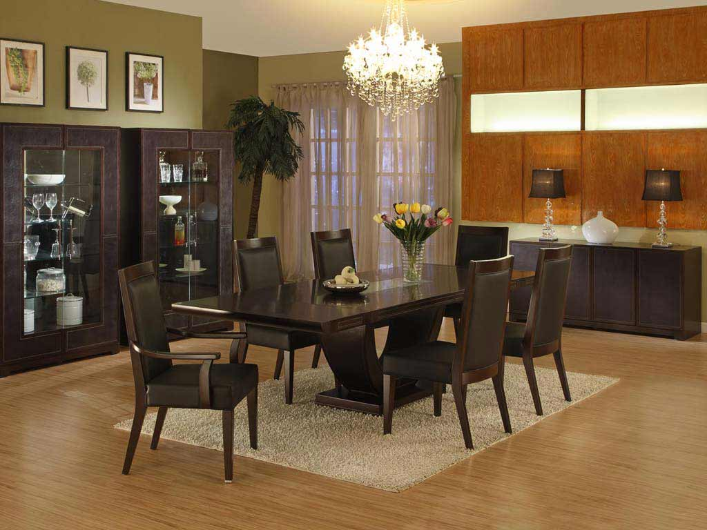 Miss italia black dining room sets in wood