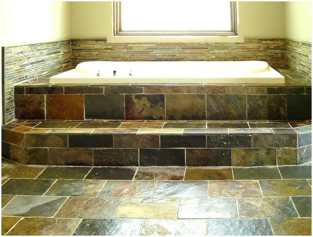 Best tile for bathroom walls feel the home for Best tiles for small bathroom