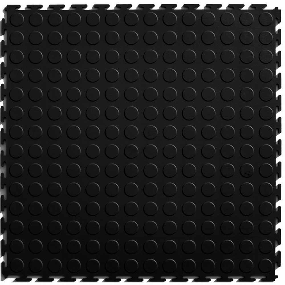 Perfection Black Floor Tile